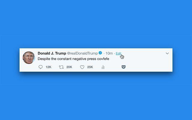 Cómo editar un tuit