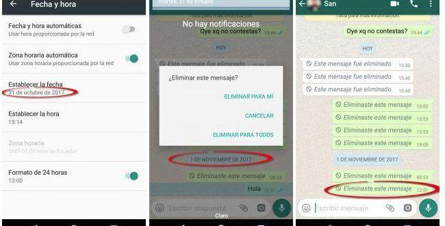 Cómo eliminar mensajes de Snapchat