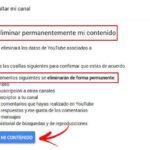 Cómo eliminar una cuenta de YouTube
