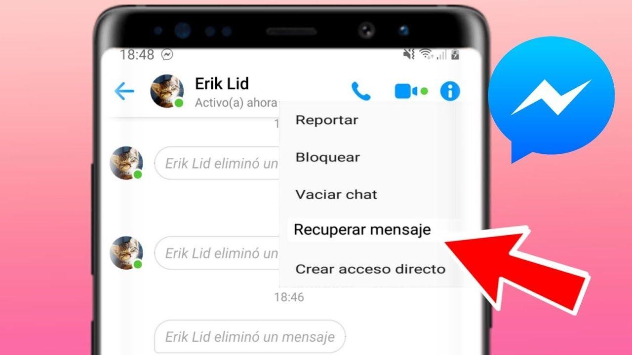 Cómo recuperar mensajes borrados en Facebook Messenger
