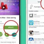 Cómo actualizar aplicaciones en Android