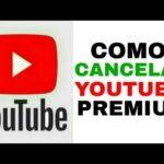Cómo cancelar la música de YouTube