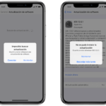 Cómo reiniciar una descarga fallida de iTunes Store en un iPhone