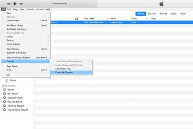 Cómo usar iTunes para crear MP3, AAC y más