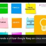 Cómo utilizar Google Keep