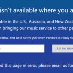 ¿Está Pandora fuera de servicio... o sólo eres tú?
