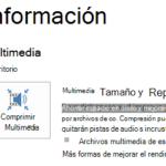 ¿Qué es la compresión de archivos multimedia?