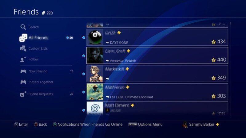 Cómo añadir amigos en PS4