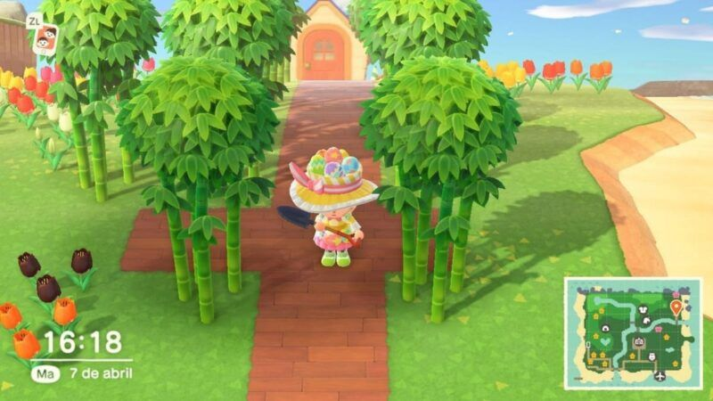 Cómo conseguir bambú en Animal Crossing: New Horizons