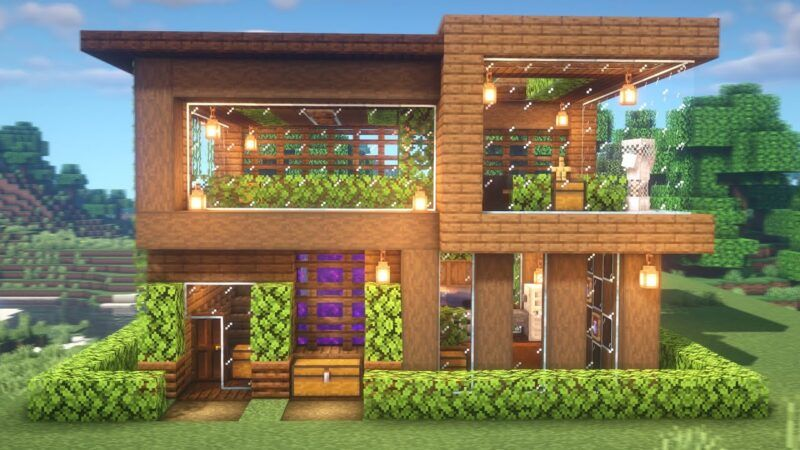 Cómo construir una casa en Minecraft