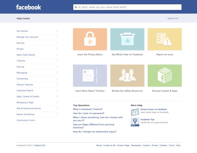 Cómo contactar con Facebook