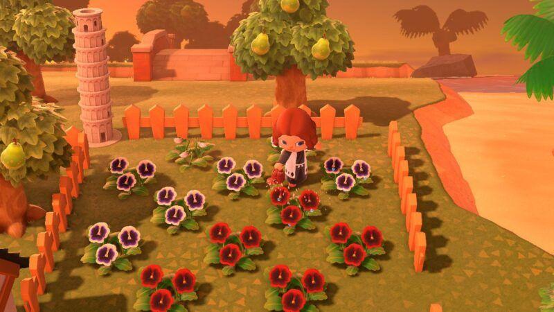 Cómo criar flores en Animal Crossing