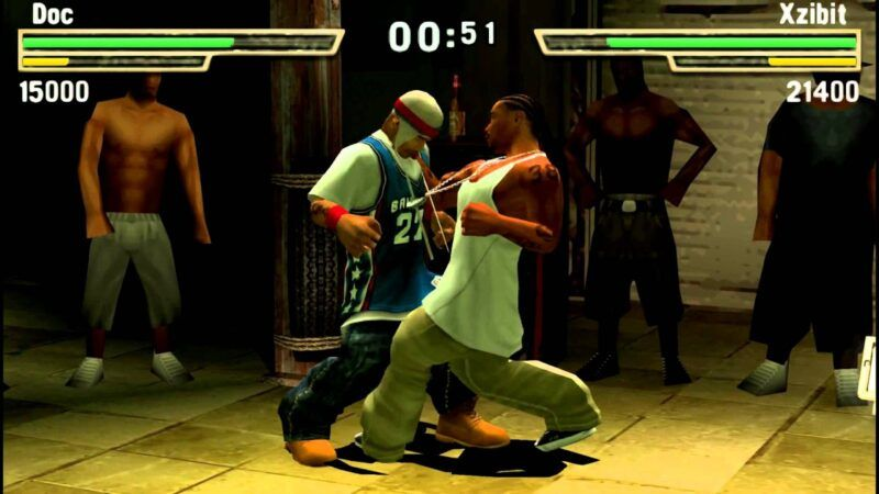 Def Jam Fight for NY: The Takeover vs. Def Jam Fight for NY