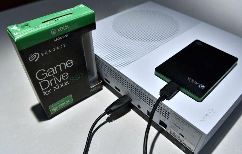 Guía del disco duro externo de Xbox One