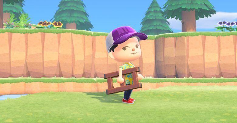 Escalera en Animal Crossing New Horizons