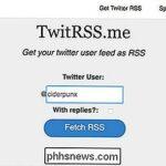 Cómo crear tu propio feed RSS de Twitter
