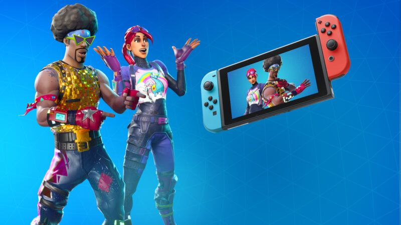 Cómo actualizar Fortnite en la Switch