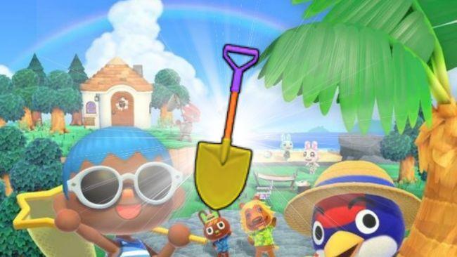 Herramientas doradas en Animal Crossing