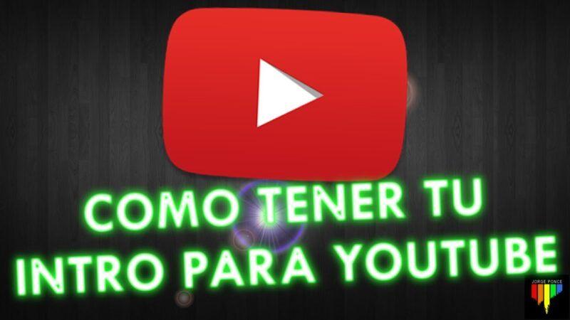 Intro de YouTube