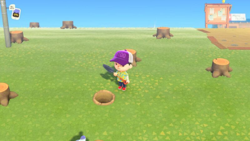 Cómo conseguir una pala en Animal Crossing: New Horizons
