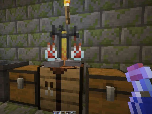 Pasión de la suerte en Minecraft
