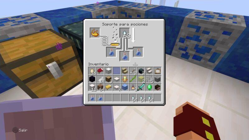 Cómo hacer una poción mundana en Minecraft