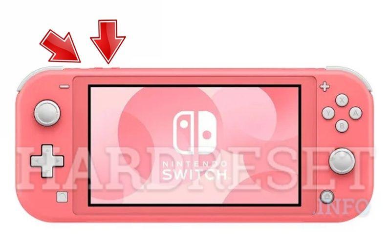Reiniciar Nintendo Switch