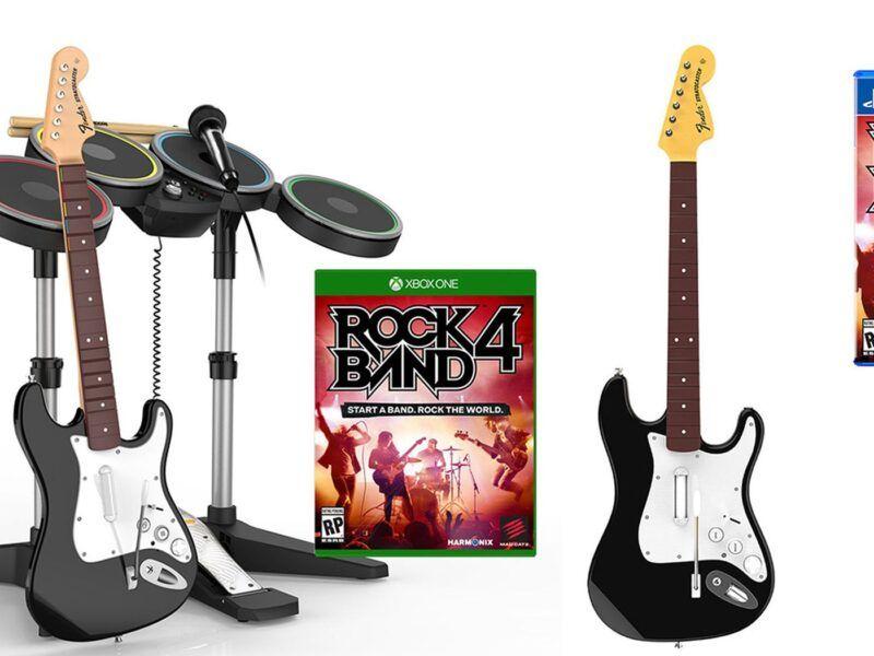 Preguntas frecuentes sobre la compatibilidad de instrumentos de Rock Band 4 en Xbox One
