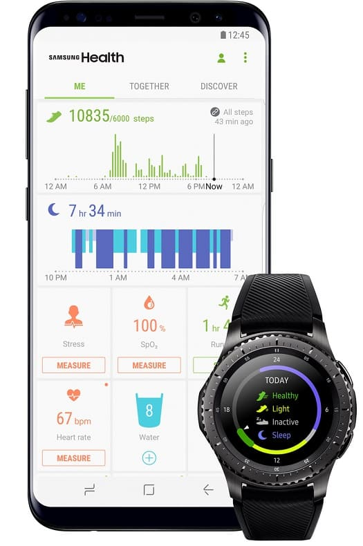 Samsung Health quiere ser tu centro de hábitos de salud