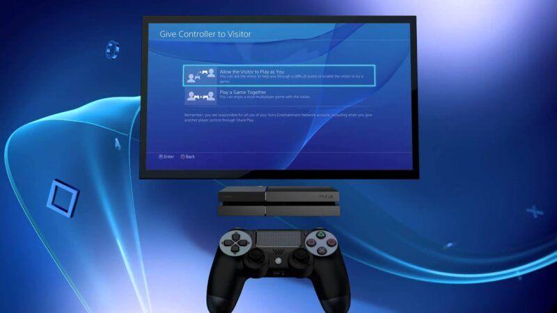 Cómo compartir juegos en la PS4