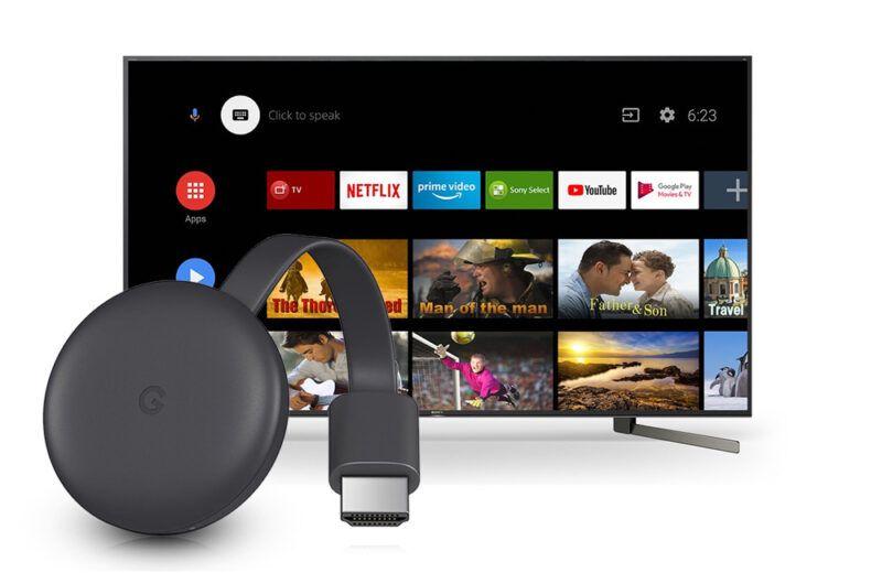 TV con Chromecast