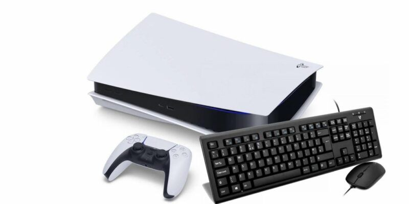 Cómo usar un teclado o un ratón en la PS5