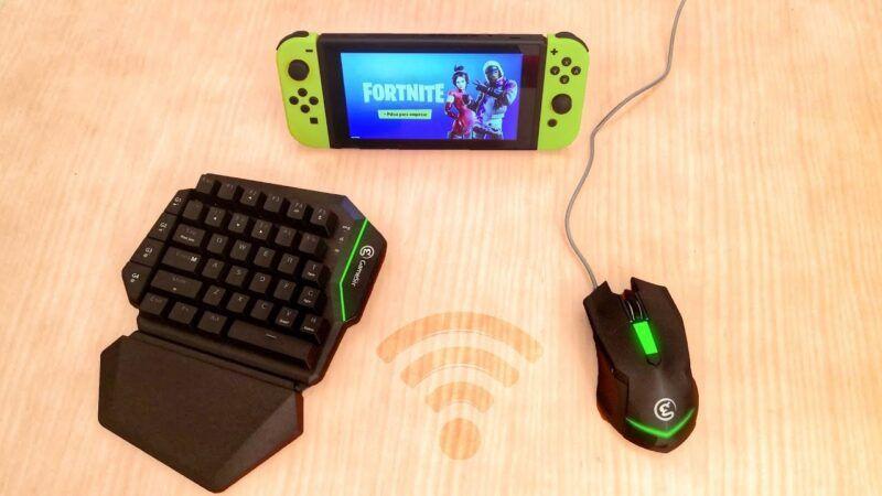 Teclado y ratón en la Nintendo Switch