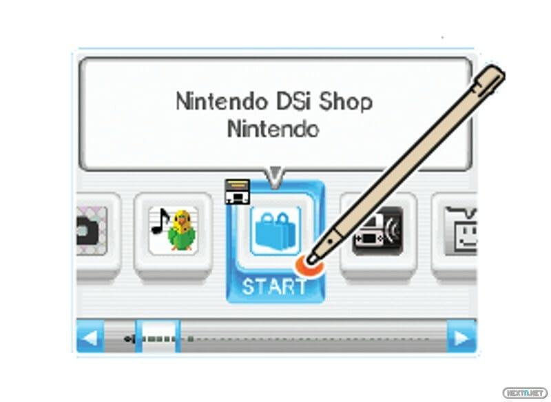 Tienda de Nintendo DSi