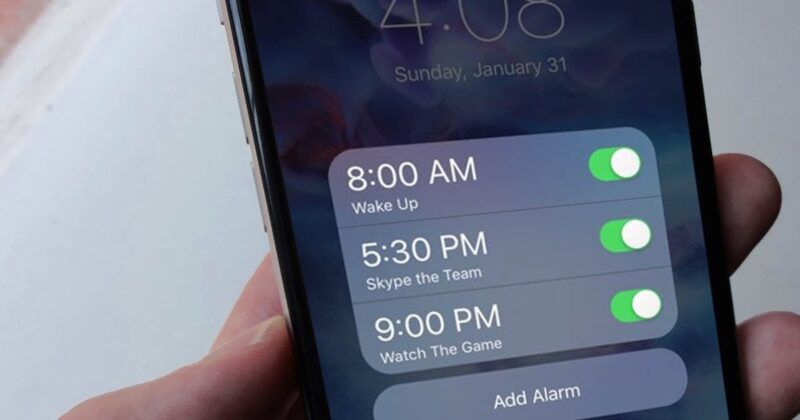 Cómo arreglar una alarma de iPhone que no funciona
