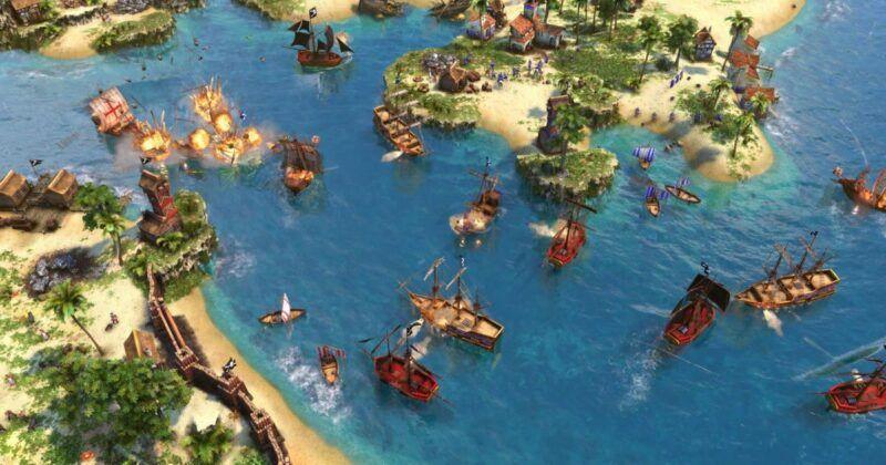 Guía de códigos de trucos para PC de Age of Empires III