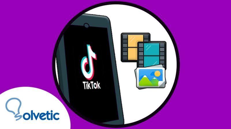 Cómo añadir fotos a TikTok