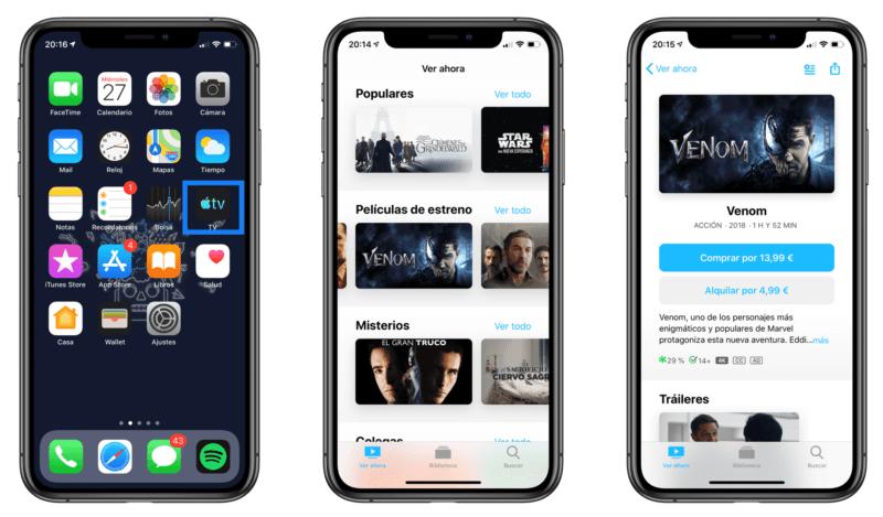 Cómo utilizar la aplicación de televisión del iPhone