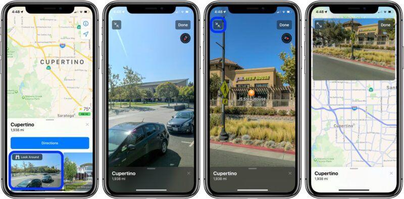 Cómo utilizar Apple Maps Street View