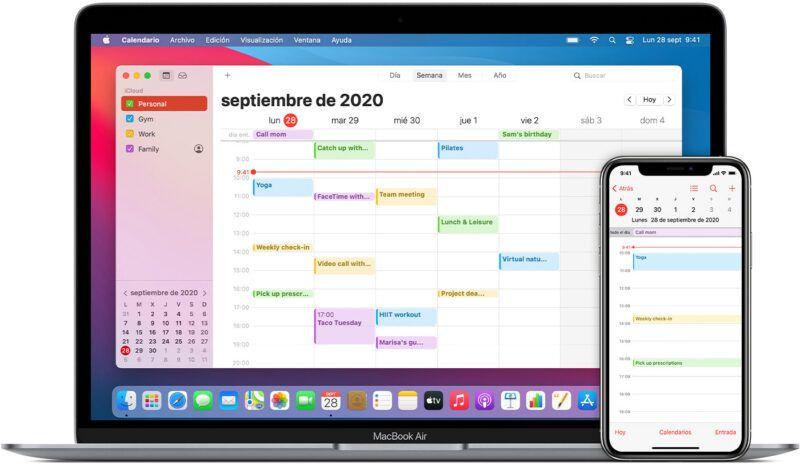 Cómo las apps de calendario y contactos de Apple pueden hacerte más productivo
