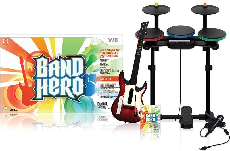 Lista de canciones de Band Hero