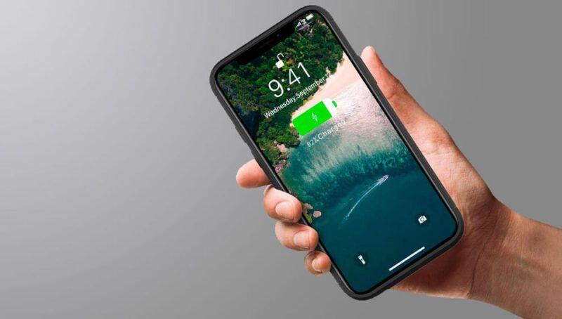 Batería de iOS 11