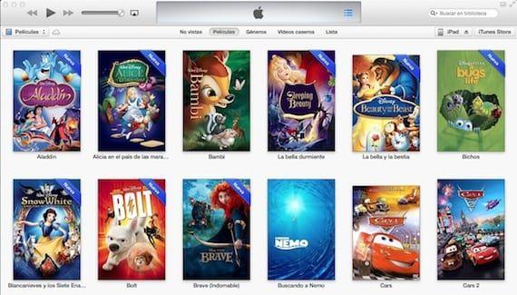 Bibliotecas de iTunes