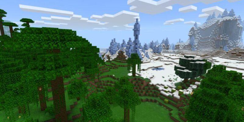 Explicación de los biomas de la selva de Minecraft