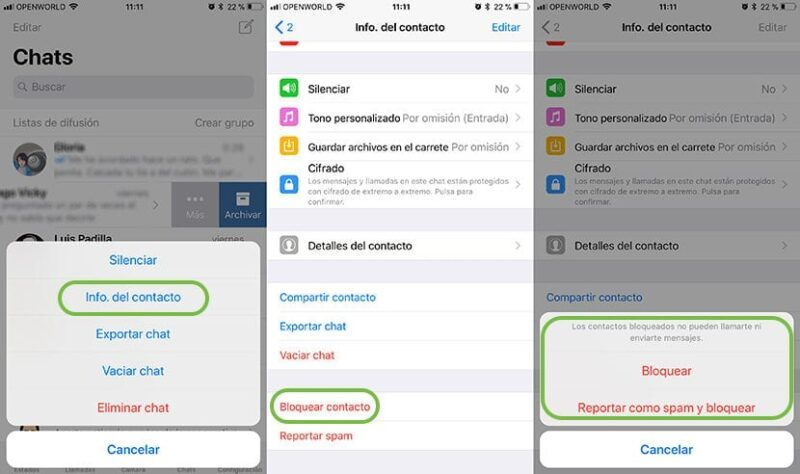 Cómo utilizar la función de bloqueo de WhatsApp