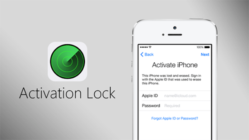 Bloqueo de activación agregado a Buscar mi iPhone