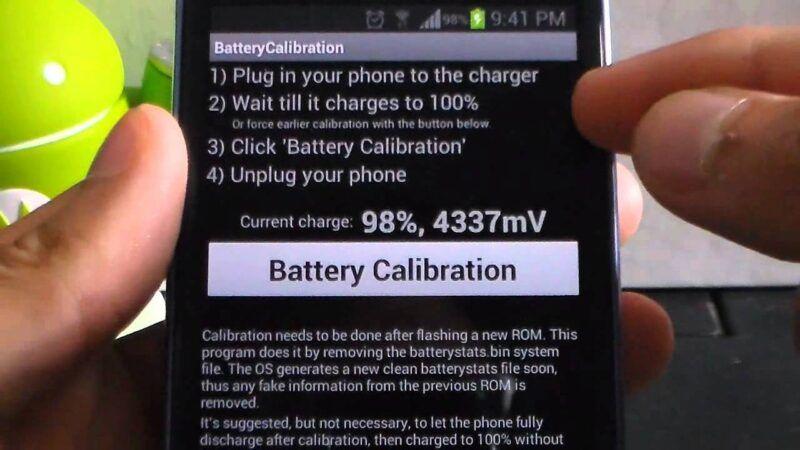 Cómo calibrar la batería de tu Android