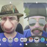 Cómo hacer caras tontas en Snapchat con lentes de selfie