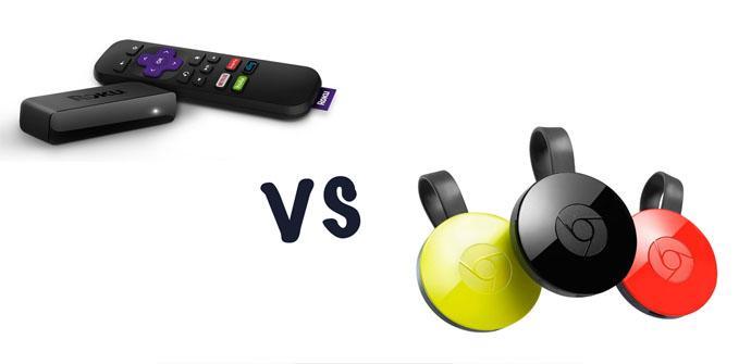 Chromecast vs. Roku