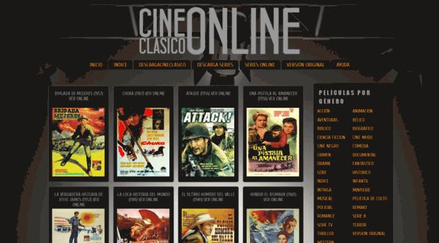 Cine clásico en línea